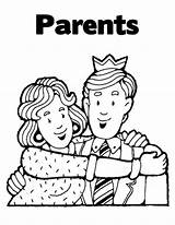 Parents Coloring Pages Obey Activity Parent Fun Father Sheets Getcoloringpages Printable sketch template