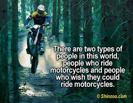 » Motorcyclist Quotes Sometimes Nothing…