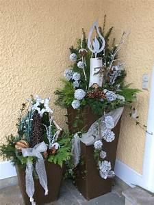 Weihnachtsdeko Aussen Dekoration : weihnachtliche deko vor dem haus weihnachtsdeko pinterest weihnachtsdeko hauseingang ~ Frokenaadalensverden.com Haus und Dekorationen