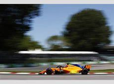 McLaren Formula 1 2018 Canadian Grand Prix Free Practice