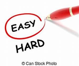 Easy hard way Illustrations and Stock Art. 89 Easy hard ...
