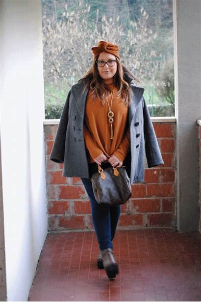 Outfit Curvy Camel Grey Animated Giphy Gifs