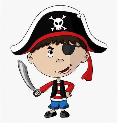 Pirate Patch Eye Clip Kid Clipart Transparent