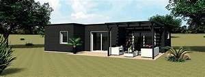 Plan De Construction Maison : construction maison modulaire bois ~ Premium-room.com Idées de Décoration