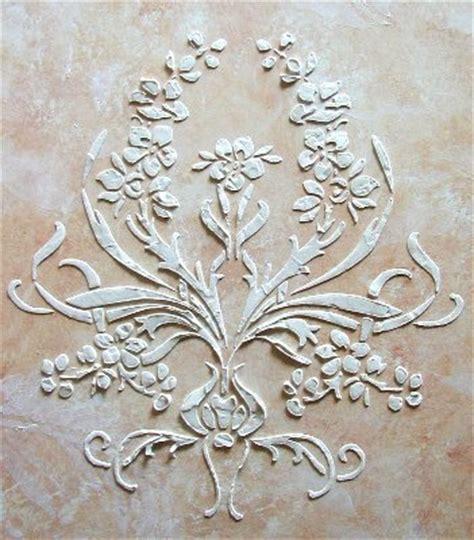 stenciling design plaster stenciling revisited plaster stencils by victoria larsen