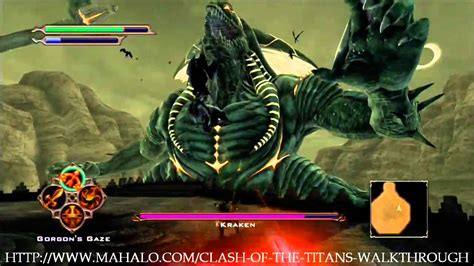 clash   titans walkthrough quest   kraken