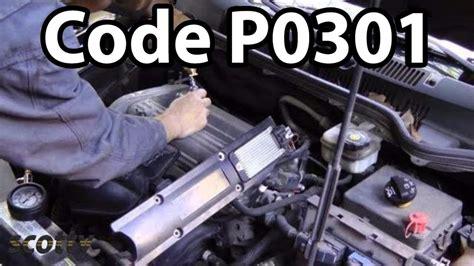 p0301 code misfire compression test