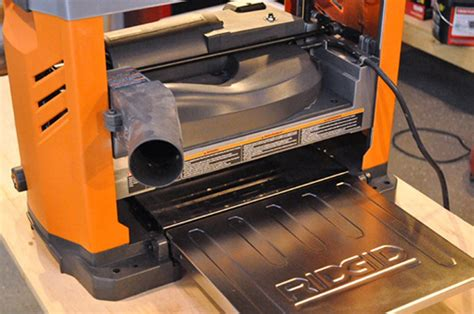 ridgid thickness planer review  project closer