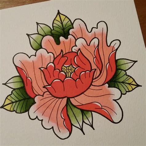 35 Best Japanese Peony Flower Tattoo Images On Pinterest