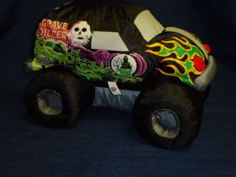 bad to the bone monster truck video 14 quot good stuff plush grave digger quot bad to the bone