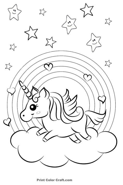rainbow  hearts colorful unicorn coloring pages unicorn coloring pages mermaid coloring