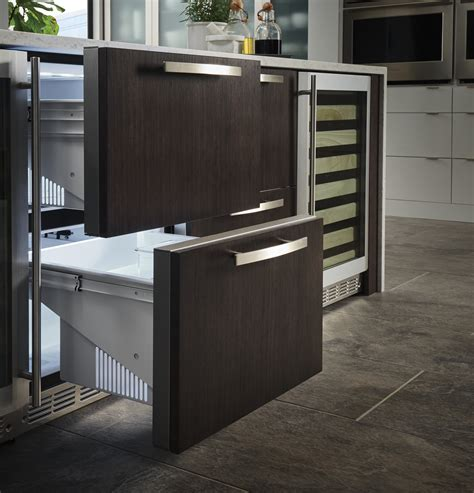 monogram double drawer refrigerator module zidihii ge appliances