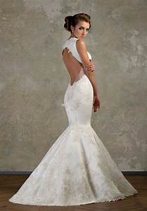 backless lace sexy mermaid wedding dresses ideas With mermaid backless wedding dress