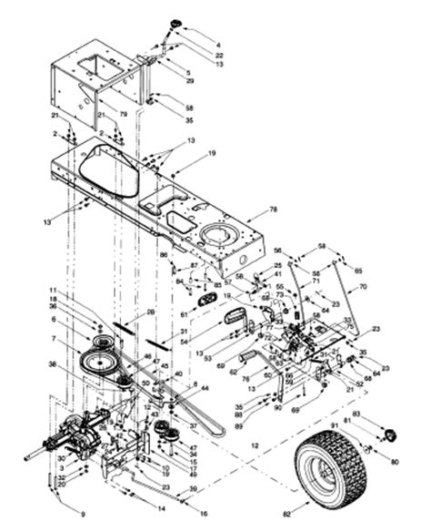 deck belt diagram for troy bilt bronco deck free engine