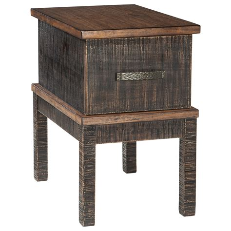 signature design by stanah chair side end table