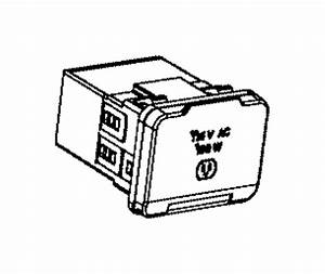 2015 Ram 2500 Power Outlet  Inverter  Auxiliary  Module