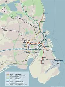 Copenhagen Subway Map  With Images