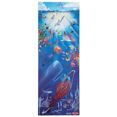ocean life floor puzzle  piece