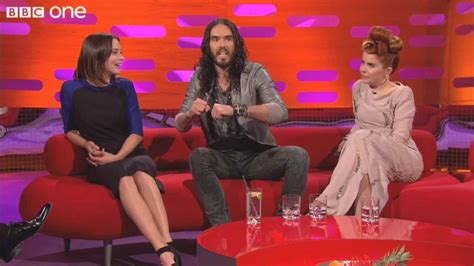 russell brand on graham norton russell brand on horse riding the graham norton show