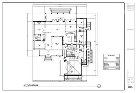 house drawings plans drafting by ids