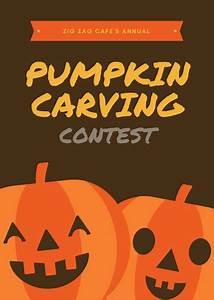 Zombie Pumpkin Templates Invitation Template