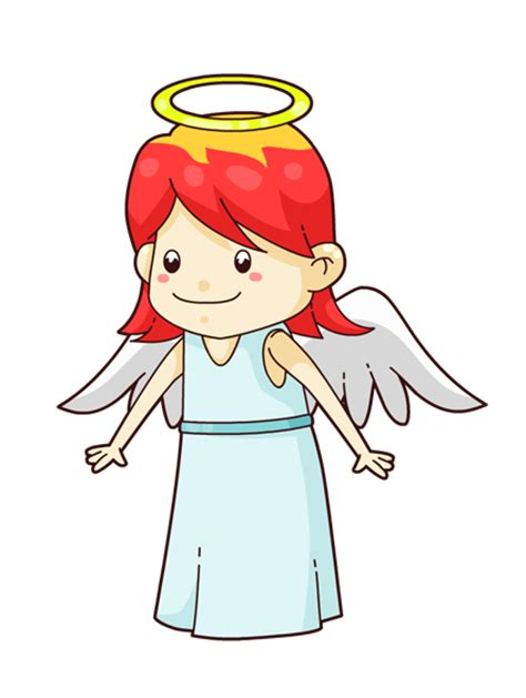 Cute Cartoon Angel Clip Art Free