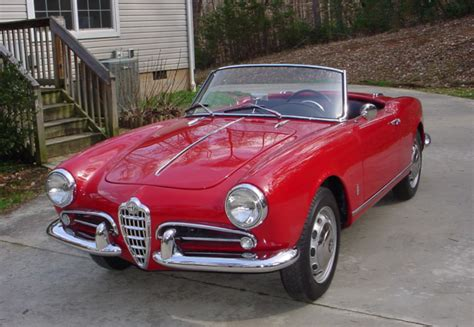 Alfa Romeo Giulietta For Sale by 1959 Alfa Romeo Giulietta Spider 750d For Sale On Bat