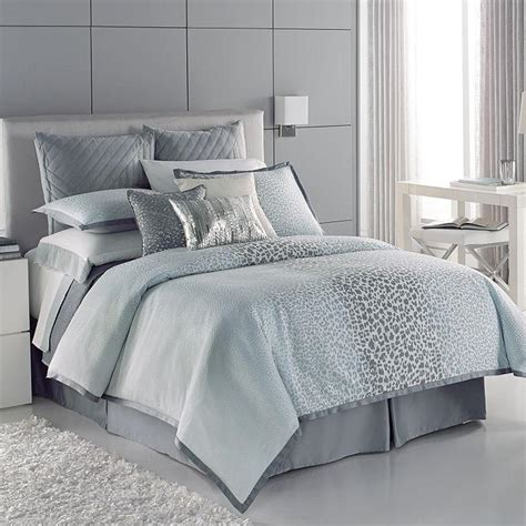 Jennifer Lopez bedding collection Snow from Kohl's Bedroom