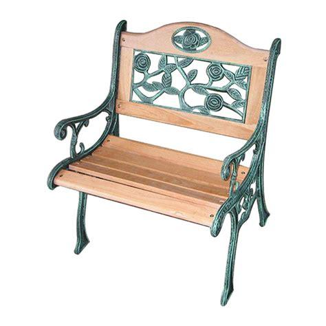 cheap wood cast iron garden chair for sale best wooden