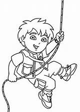 Coloring Diego Pages Dora Printable Go 4kids Print Wire источник Cartoons sketch template