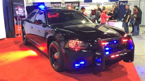 dodge charger police car lights flashing youtube