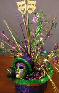 Mardi Gras Centerpieces to Make