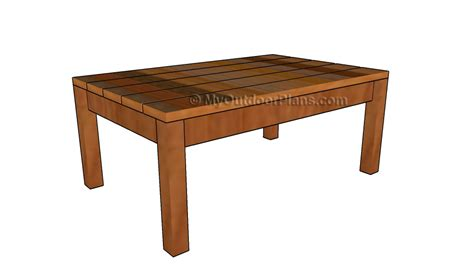 adirondack coffee table plans myoutdoorplans