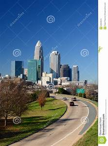 Skyline Of Uptown Charlotte Royalty Free Stock Photo ...