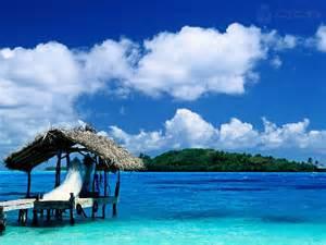 Bora Hut French Polynesia