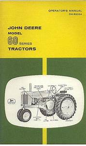 John Deere Tractor Model 60 Series Operators Manual