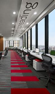 Office Interior: A Contemporary, Modern Workspace of the ...