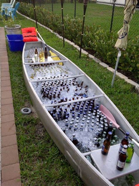 Boat Shaped Drink Cooler by 40 Creative Drink Station Ideas For Your 2017