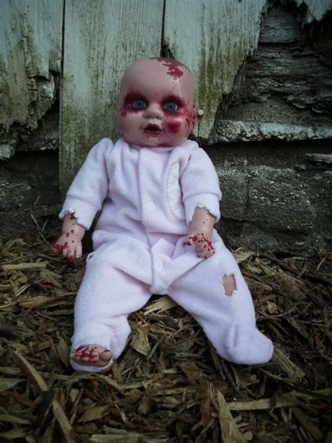 zombie baby babies zombies halloween babys decorations dolls