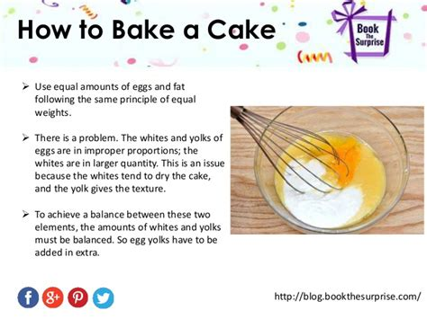 how to bake how to bake a cake