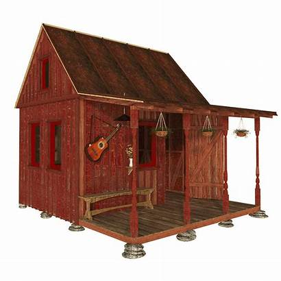 Plans Garden Cabin Shed Diy Tiny Houses