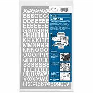 Chartpak vinyl letters and numbers cha01016 shopletcom for Vinyl letters and numbers