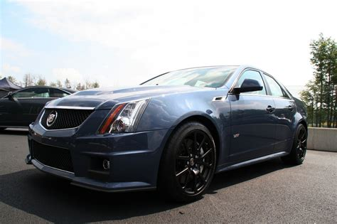 Cadillac Cts Blue by Cadillac Cts V Quot Supersonic Blue Quot Prototype Photo Gallery