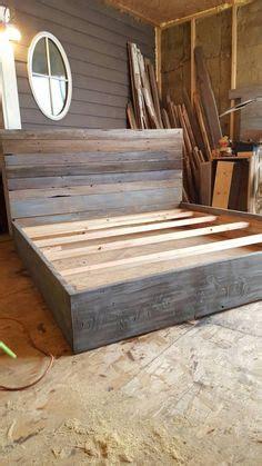 woodworking king size platform bed plans
