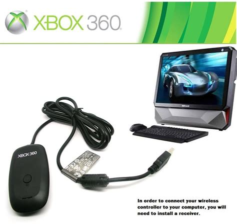 xbox  wireless gaming receiver adapter  pc steam
