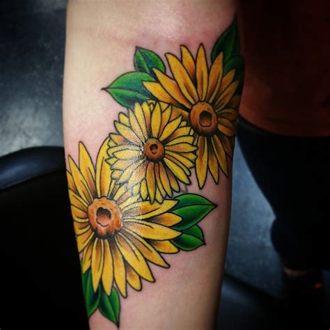 daisy tattoo images designs