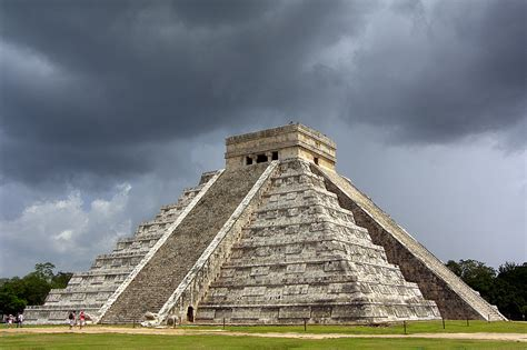 Pirâmide De Kukulcán, A Photo From Yucatan, Southeast