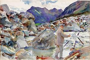Sargent The Watercolours, exhibition reviewAn utterly