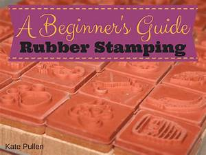 Get Started Rubber Stamping