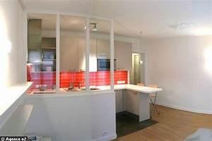 Kitchenette Pour Studio : cuisine pour studio am nagement de cuisine pour petit espace ~ Premium-room.com Idées de Décoration